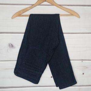 Banana Republic Dark Wash Skinny Fit Jeans Sz 27